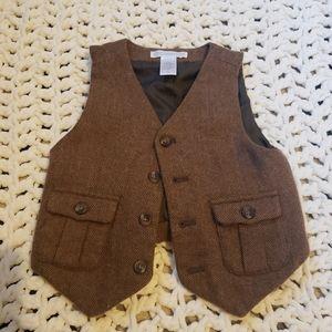 Wool Janie and Jack vest